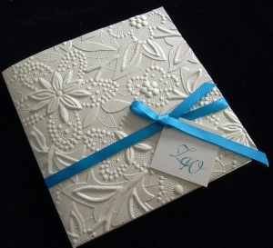 Wedding Invitations Embossed or Thermography