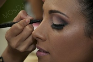 MOsDJ wedding makeup