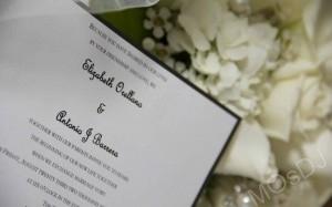 MOsDJ Wedding invitations
